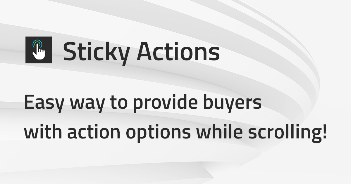 Sticky Actions